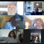 Launching Black Voices in Cabaret at their first meeting via Zoom