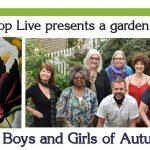 The Boys and Girls of Autumn- a garden & livestream concert