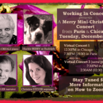 Merry Mini-Christmas Concert from Paris and Chicago