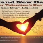 "SongShop Live presents ""A Brand New Day"" for Valentine's"